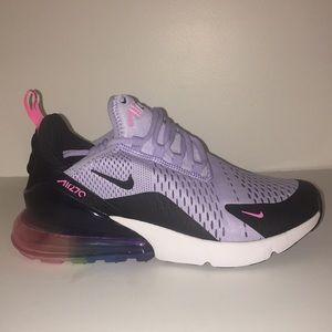 best loved c3124 e772f Nike Air Max 270 Be True LGBT Purple NWT